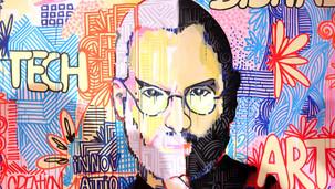 Viva Technology 2019 - Toile Steve Jobs