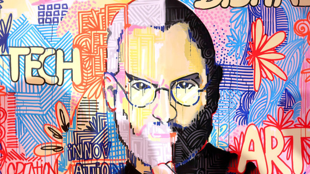 Viva Technology 2019 - Toile Steve Jobs