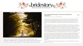 [PUBLISHED] on Bridestory , Photobug Community, Mywed