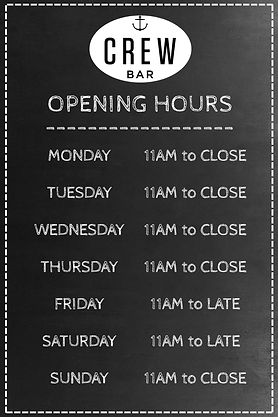 Crew Bar Opening Hours Poster Template.jpg