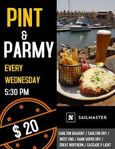 Copy of Beer Night flyer advertisement (