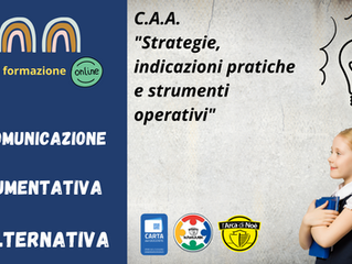 COMUNICAZIONE AUMENTATIVA ALTERNATIVA (CAA): Strategie, indicazioni pratiche e strumenti operativi