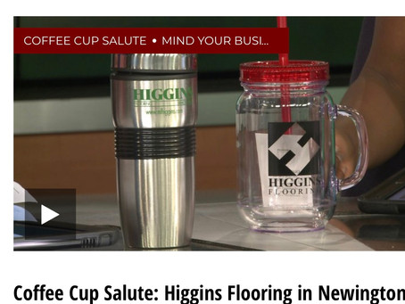 Fox 61 Coffee Cup Salute to Higgins 9/18/18