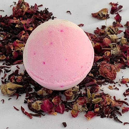 rose bath bomb