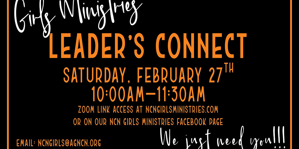 NCN Girls Ministries Leaders Connect