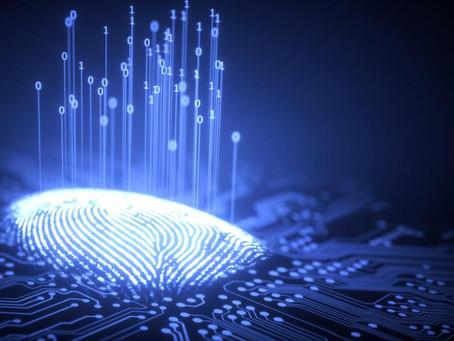 Empreintes digitales et carte d'identité