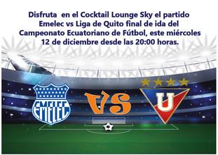 Partido de Ida del Campeonato Ecuatoriano de Fútbol