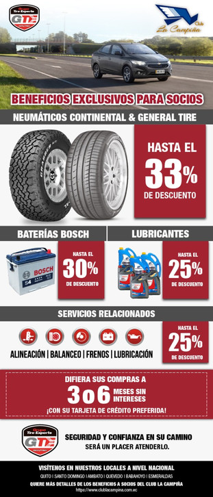 Convenio NationalTire Experts S.A.