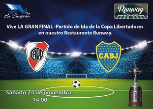 La Gran Final - Partido de Ida  Copa Libertadores