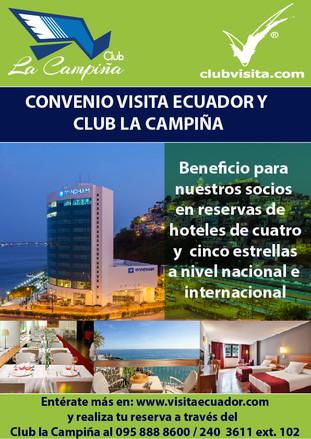 Convenio Visita Ecuador y Club La Campiña