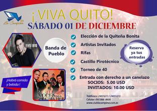 FIESTAS DE QUITO-CLUB LA CAMPIÑA