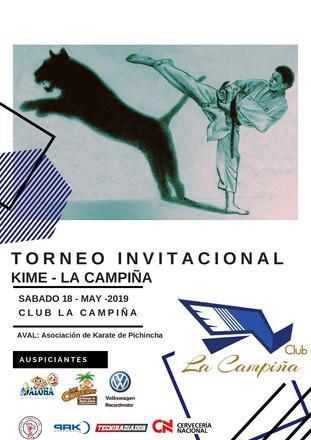 PRIMER TORNEO DE KARATE KIME - CLUB LA CAMPIÑA