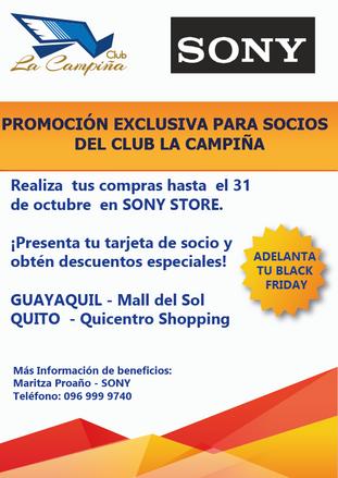 PROMOCIÓN EXCLUSIVA PARA SOCIOS DEL CLUB LA CAMPIÑA