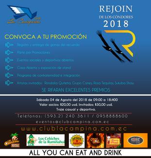 REJOIN DE LOS CÓNDORES 2018