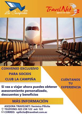 CONVENIO CLUB LA CAMPIÑA Y TRAVELNET
