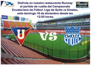 Partido de Vuelta del Campeonato Ecuatoriano de Fútbol