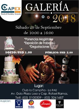 Exposición de Pastelería y Chocolatería CAPEX
