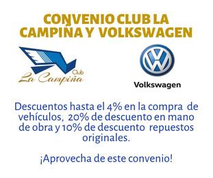 Recordatorio Convenio Volkswagen