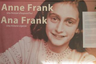 Appel à bénévolat - Exposition Anne Frank