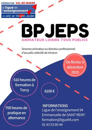Passez le BPJEPS Animateur Loisirs Tous Publics en 10 mois !