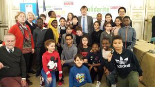 Les enfants rencontrent Nicolas Hulot