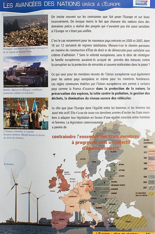 L'europe, rêve et réalités