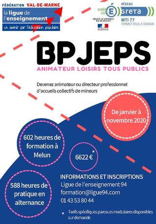 Passez le BPJEPS Animateur Loisirs Tous Publics en 11 mois !