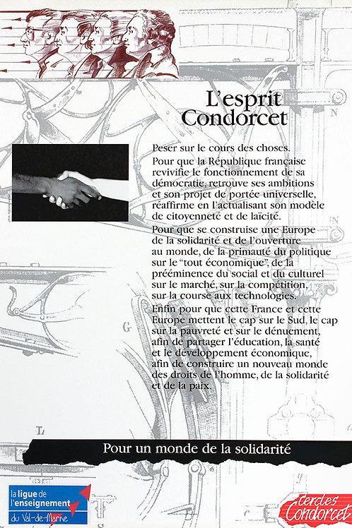Condorcet, un savant, un philosophe épris de liberté
