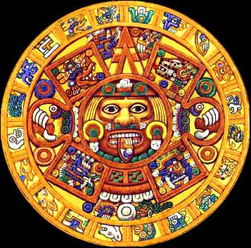 Figura Sol Azteca