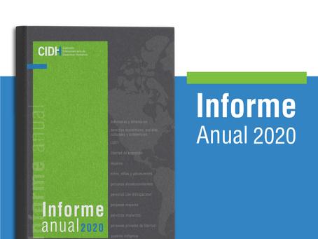 La CIDH presenta su Informe Anual 2020