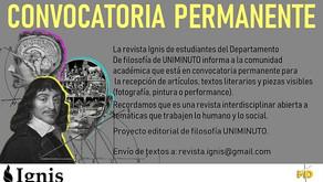 CONVOCATORIA PERMANENTE PARA LA RECEPCIÓN LITERARIA DE LA UNIMINUTO