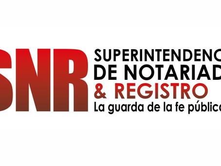 Notarias de turno en Colombia. Horarios del  13 al 27 de abril  2020.
