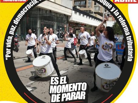 Paro Nacional de abril 28 ya tiene cuña radial.