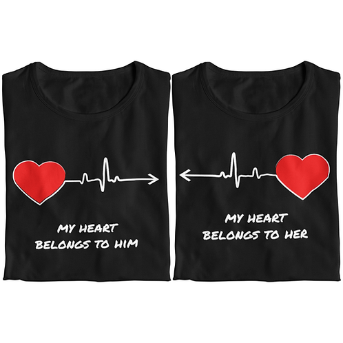 My Heart Belongs To Her/Him (Pair)