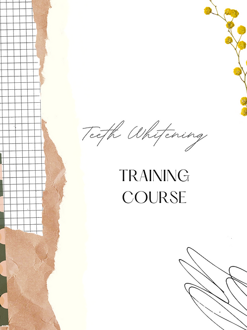 Teeth Whitening Training Manual