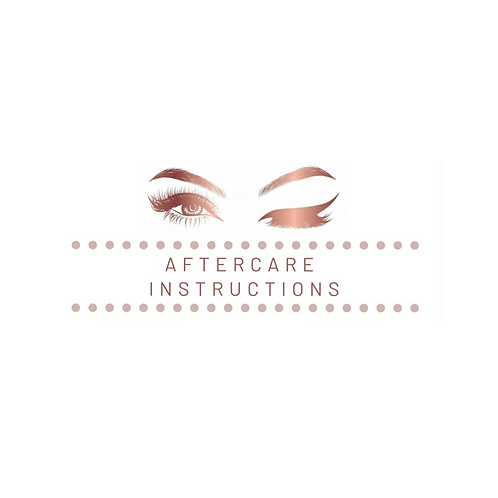 Eyelash Extensions: Aftercare & Consent Forms