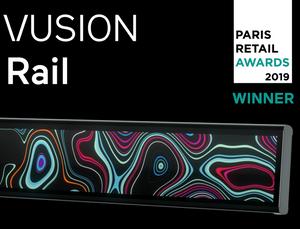 VUSION Rail   SES-imagotag   Paris Retail Week