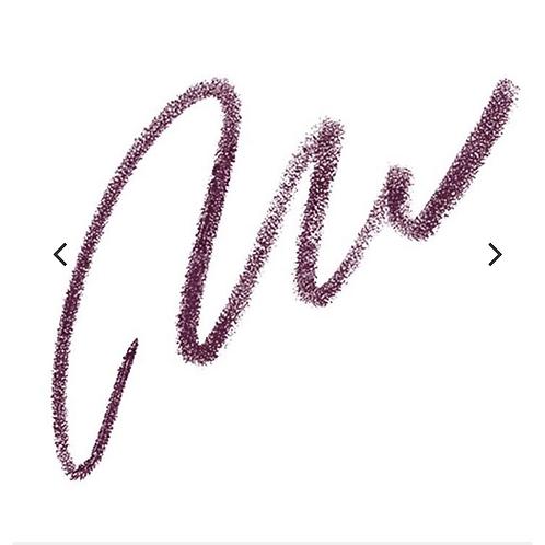 Smear proof eyeliner-plum
