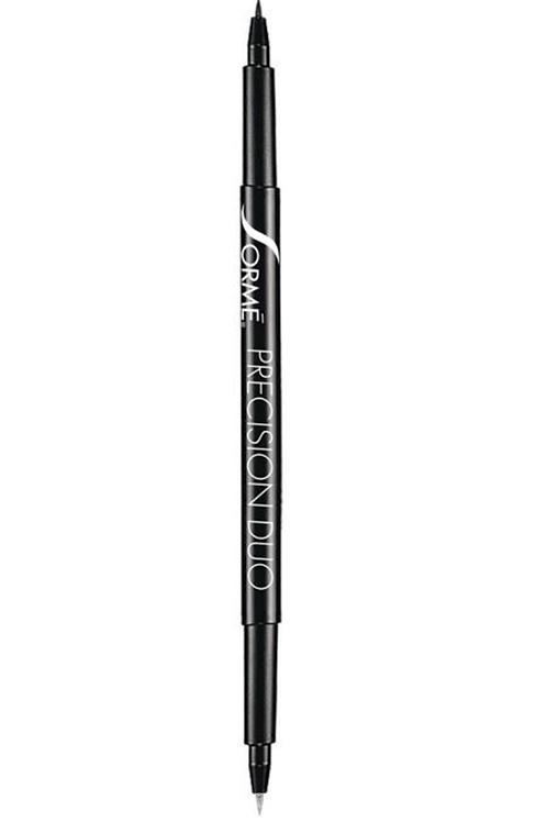 Precision duo black liquid eyeliner