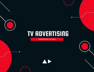 TV Advertising powered by IPL 2021