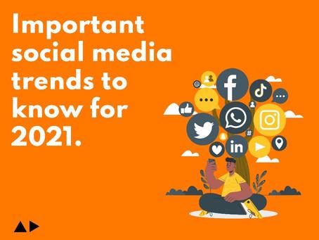 Your's Socially | Social Media Trends 2021