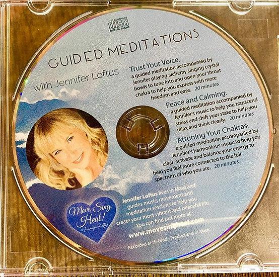 Guided Meditations with Jennifer Loftus