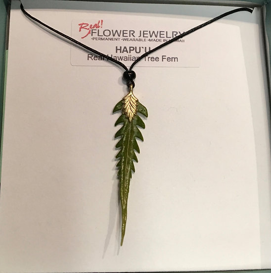 Hawaiian Fern necklace