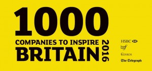 OLIVE CATERING LISTED AS ONE OF '1,000 COMPANIES TO INSPIRE BRITAIN'