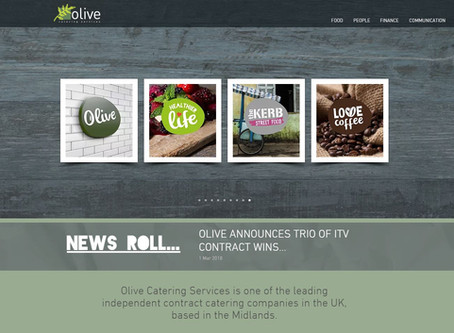 OLIVE LAUNCHES NEW WEBSITE