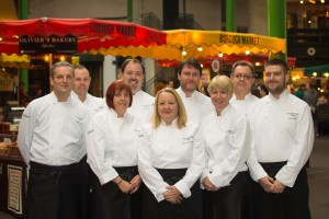 Olive Catering Food Innovation team at Borough Market