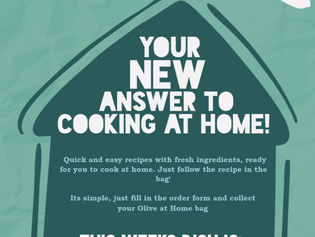 NOW YOU'RE COOKING! OLIVE LAUNCHES SERVICE TO MAKE EVENING MEALS EASIER