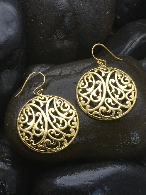 Pakis Shield Earrings