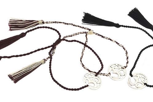 3 Bracelets OM natural color