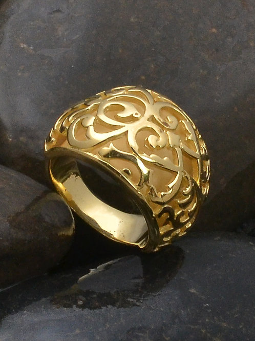 PAKIS RING GOLD PLATED